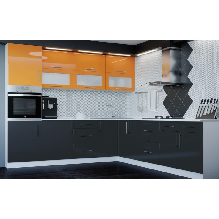 Кухня Модерн угловой набор - 4.8м