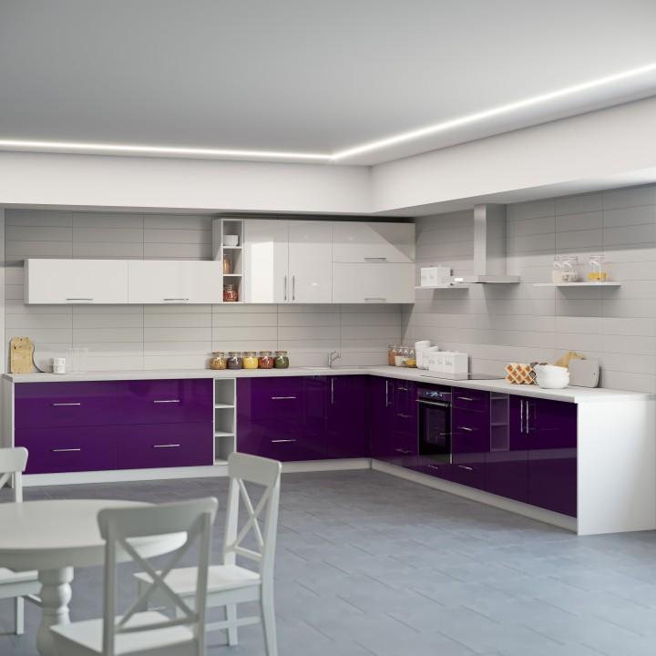 Кухня Модерн угловой набор - 6.7м