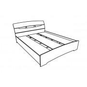 Кровать Марго Нимфея Альба 160х200
