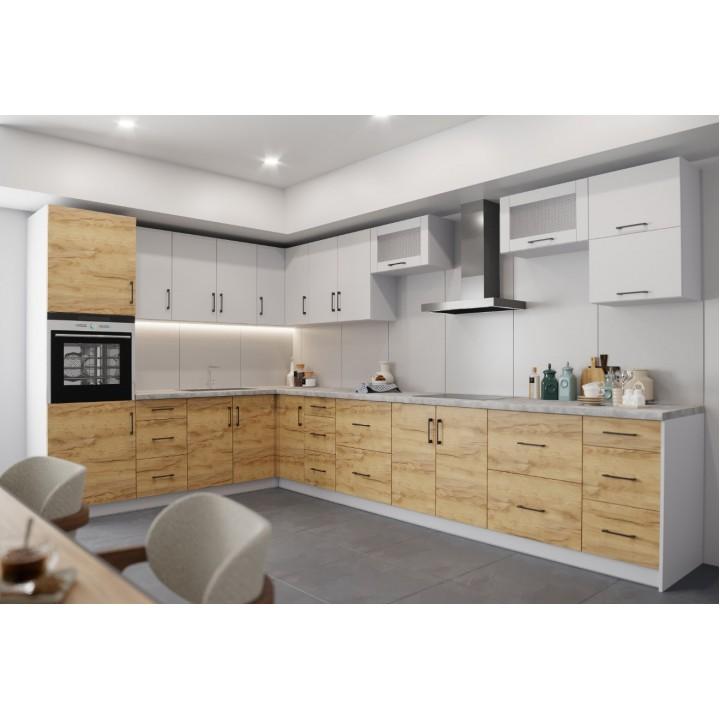 Кухня Оптима угловой набор 5.8м