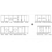 Кухня Оптима угловой набор 5.65 м