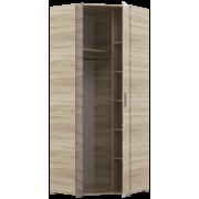 Шкаф угловой для прихожей Бриз ШКУ 14