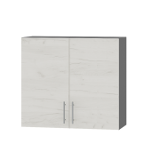 Цвет фасада: Дуб крафт БелыйЦвет каркаса: Антрацит