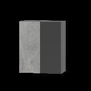 Цвет фасада: БетонЦвет каркаса: Антрацит