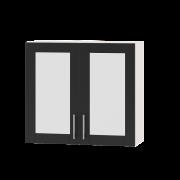 Цвет фасада: АнтрацитЦвет каркаса: Белый