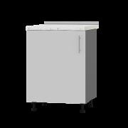 Цвет фасада: Нимфея АЛЬБА (Белый)Цвет каркаса: Антрацит