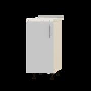 Цвет фасада: Нимфея АЛЬБА (Белый)Цвет каркаса: Дуб молочный