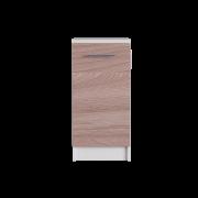 Цвет изделия: Комби Ясень Шимо темный + Белый
