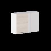 Цвет изделия: Комби Ясень Шимо светлый + Белый