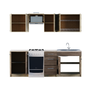 Кухня Эко № 3 набор 2.3 м