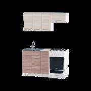 Цвет изделия: Комби Ясень Шимо + Ясень Шимо темныйСтолешница: Столешница для накладной мойкиСушилка для посуды: Без сушилкиМойка: Мойка накладная 600 R