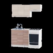 Цвет изделия: Комби Ясень Шимо + Ясень Шимо темныйСтолешница: Столешница для врезной мойкиМойка: Мойка врезная 600Сушилка для посуды: Без сушилки