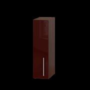 Цвет фасада: Бордо глянецЦвет каркаса: Венге темный