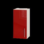 Цвет фасада: Красный глянецЦвет каркаса: Дуб молочный