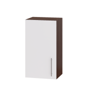 Цвет фасада: Белый глянецЦвет каркаса: Венге темный