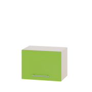 Цвет фасада: Яблоко глянецЦвет каркаса: Дуб молочный