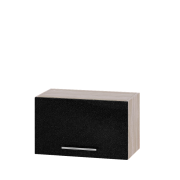Цвет фасада: Черный металликЦвет каркаса: Сонома
