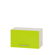 Цвет фасада: Лайм глянецЦвет каркаса: Дуб молочный