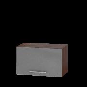Цвет фасада: Серебристый металликЦвет каркаса: Венге темный