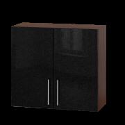 Цвет фасада: Черный металликЦвет каркаса: Венге темный