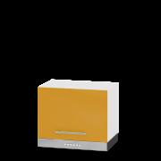 Цвет фасада: Оранж глянецЦвет каркаса: Белый