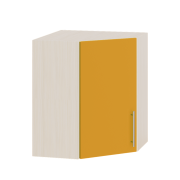 Цвет фасада: Оранж глянецЦвет каркаса: Дуб молочный