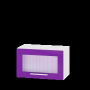 Цвет фасада: Сирень глянецЦвет каркаса: Белый