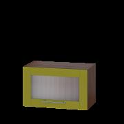 Цвет фасада: Олива глянецЦвет каркаса: Венге темный