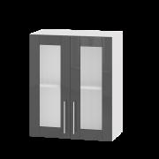 Цвет фасада: Гранит глянецЦвет каркаса: Белый