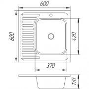 Мойка 6625 L/R