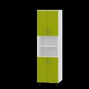 Цвет фасада: ЛаймЦвет каркаса: Белый