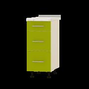 Цвет фасада: ЛаймЦвет каркаса: Дуб молочный