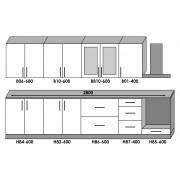 Кухня Оптима набор 2.8 м