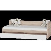 Кровать Соната 800 с ящиками 80х190 Эверест