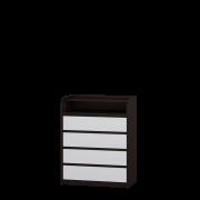 Цвет изделия: Комби Венге темный + БелыйМеханизмы выдвижения : Роликовые направляющиеМеханизмы выдвижения : Телескопические направляющие