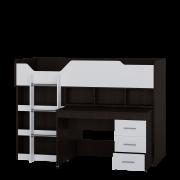 Кровать чердак Микс 80х190