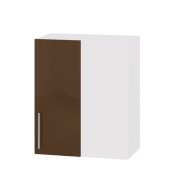 Цвет фасада: Капучино глянецЦвет каркаса: Белый