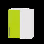 Цвет фасада: Лайм глянецЦвет каркаса: Белый