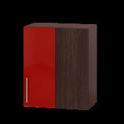 Цвет фасада: Красный глянецЦвет каркаса: Венге темный