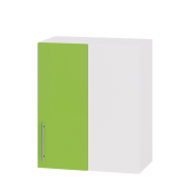 Цвет фасада: Яблоко глянецЦвет каркаса: Белый