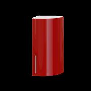 Цвет фасада: Красный глянецЦвет каркаса: Белый