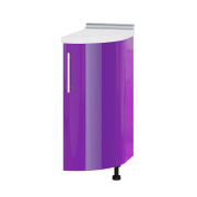 Цвет фасада: Сирень глянецЦвет каркаса: Дуб молочный