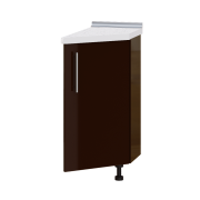Цвет фасада: Шоколад глянецЦвет каркаса: Белый